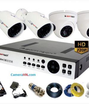 Lắp đặt trọn bộ camera HD samtech