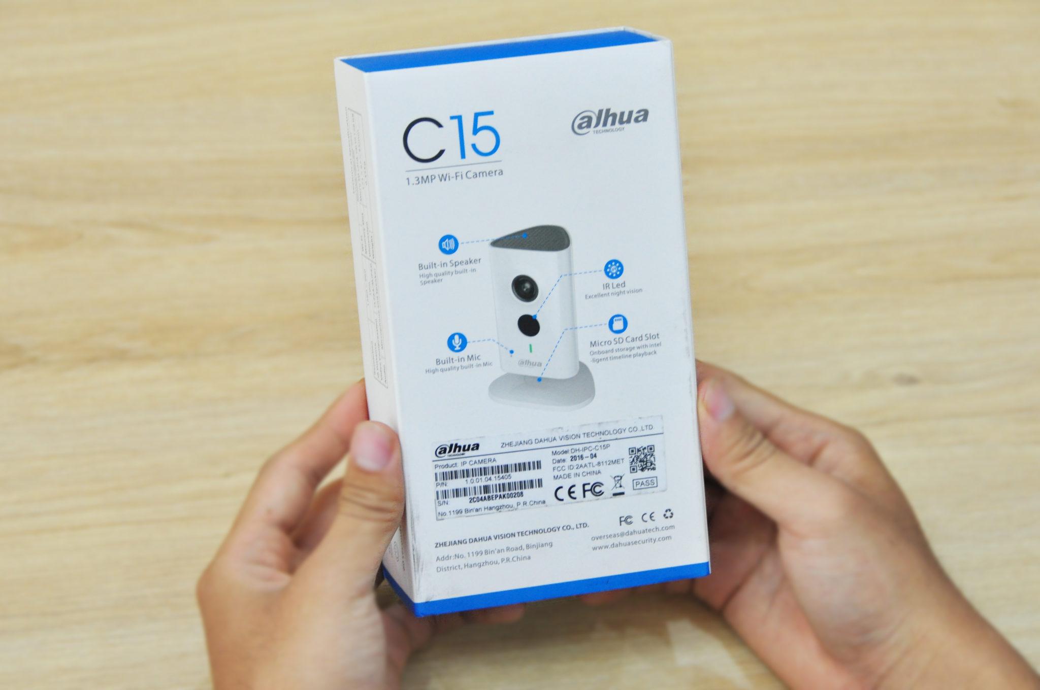 hộp camera quan sát không dây C15
